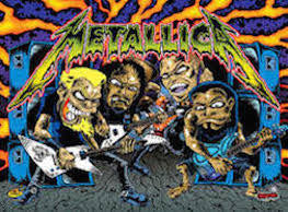 Metallica Pinball Interactive Back Box Light Kit