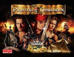 Pirates of the Caribbean Pinball Interactive Back Box Light Kit