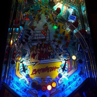 Pinball Trough Lighting Kit- Simpsons Pinball Party - Mezel Mods  - 8