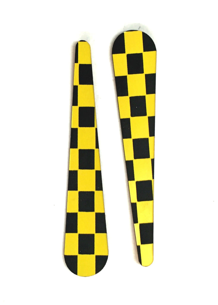 Checkered Flag Flipper Bats (set of three) - Mezel Mods  - 5