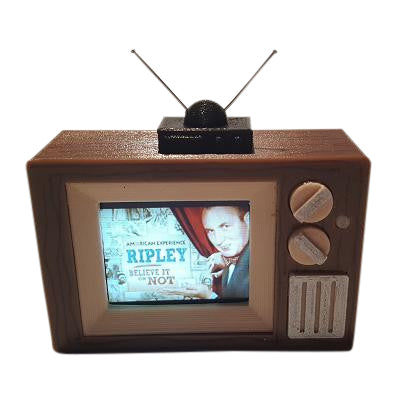 Ripley's Believe it or Not TV Video Display Mod - Mezel Mods