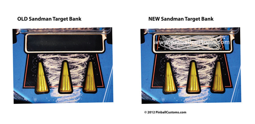 Sandman Bank Target Decal - Mezel Mods  - 3