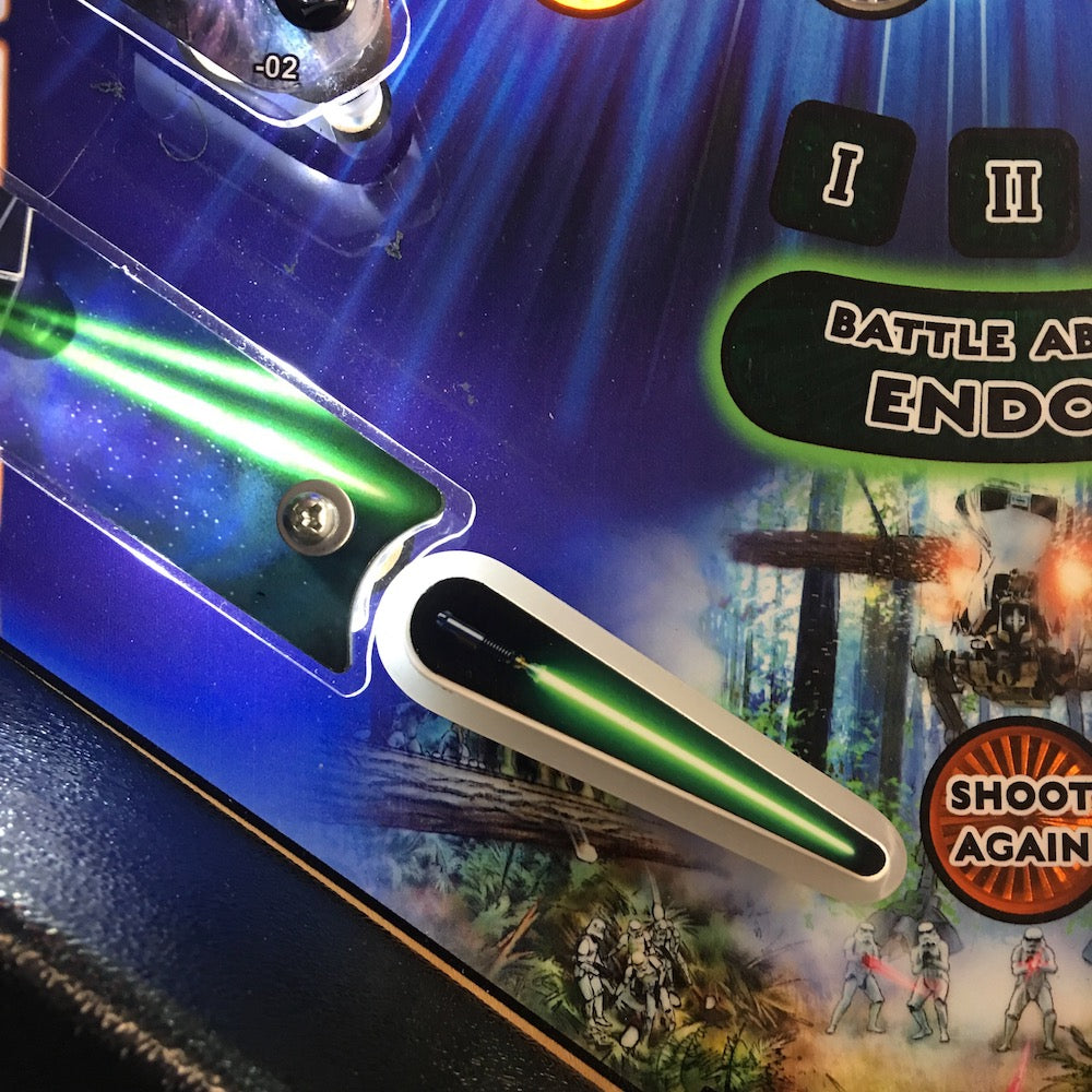 Star Wars Pinball Lightsaber Flipper Toppers