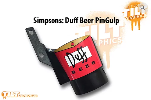 Duff PinGulp Decal