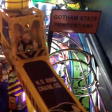 Batman 66 Pinball State Penitentary Sign