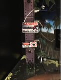 Jurassic Park Pinball 10000 Volts Sign Set