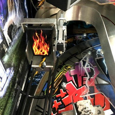 Stern Pinball Flame Gate Assembly Cover - Mezel Mods  - 1