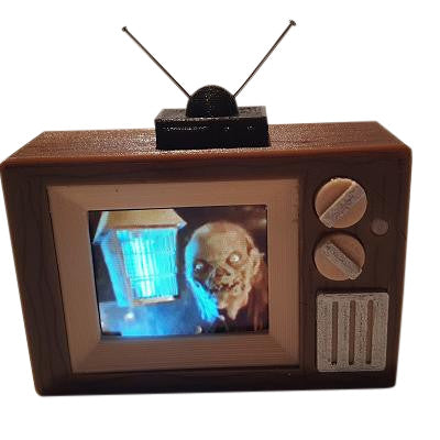 Tales from the Crypt Pinball TV Video Display Mod - Mezel Mods