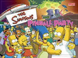 The Simpsons Pinball Party Pinball Interactive Under-cabinet Light Kit