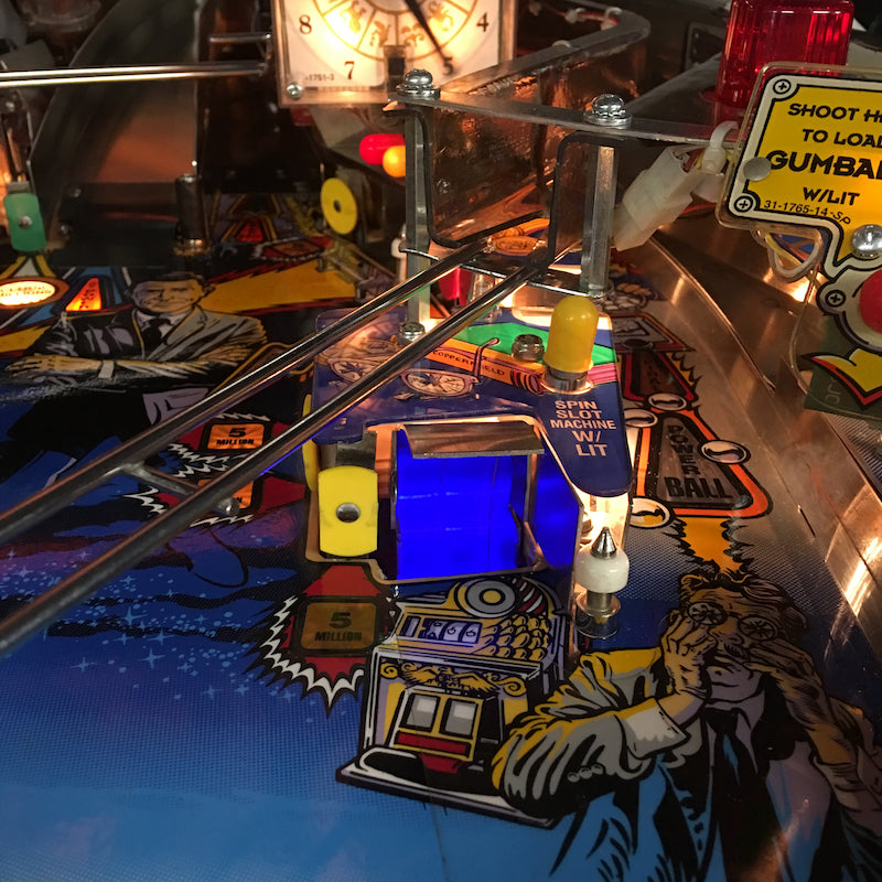 Twilight Zone Pinball Scoop Illumination