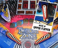 Twilight Zone Pinball Flipper Bats (set of three) - Mezel Mods  - 1