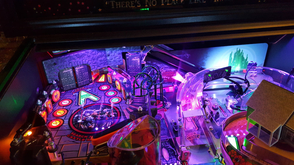Wizard of Oz Pinball Back Board RGB LED - Mezel Mods  - 3