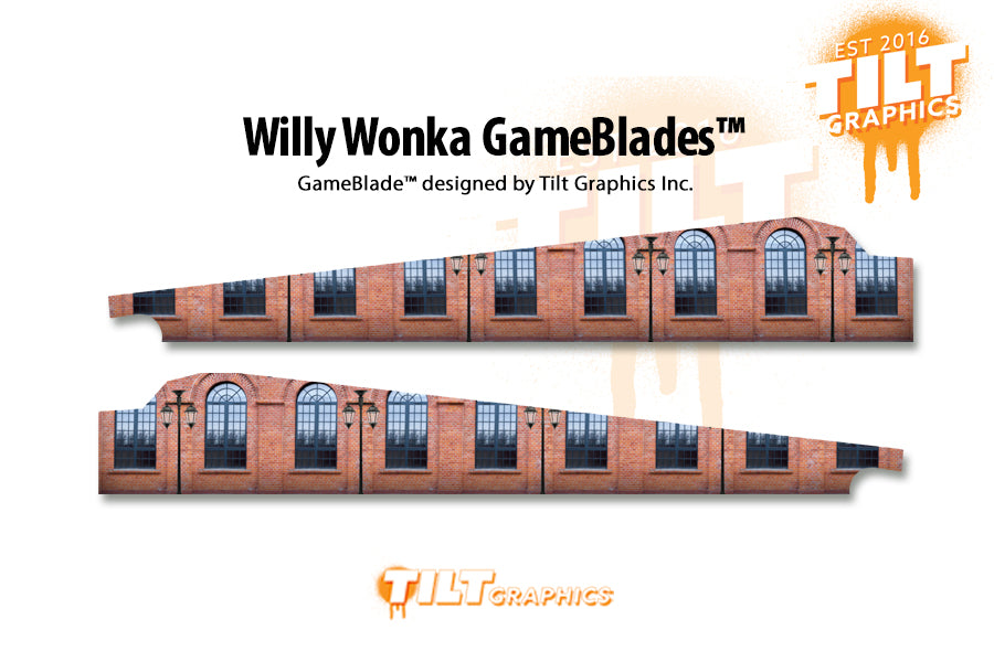 Willy Wonka Pinball GameBlades