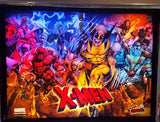 X-Men Pinball Custom Backbox Kit