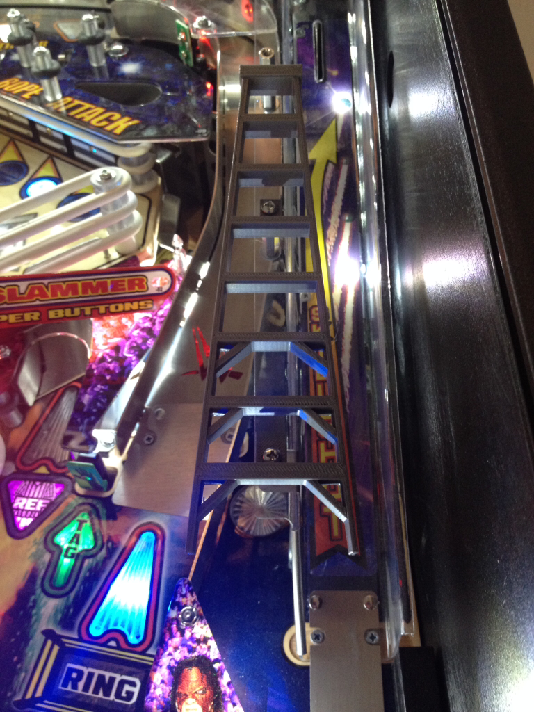 Wrestlemania Pinball Ladder - Mezel Mods  - 2