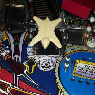 The Addams Family Pinball Bear Rug - Mezel Mods  - 1