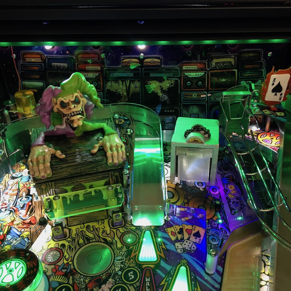 Aerosmith Pinball RGB Backboard Illumination