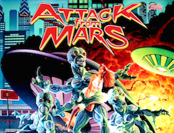 Attack from Mars Pinball Remake Interactive Under-cabinet Light Kit