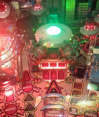 Attack from Mars Pinball Illuminated Bank Target - Mezel Mods  - 1