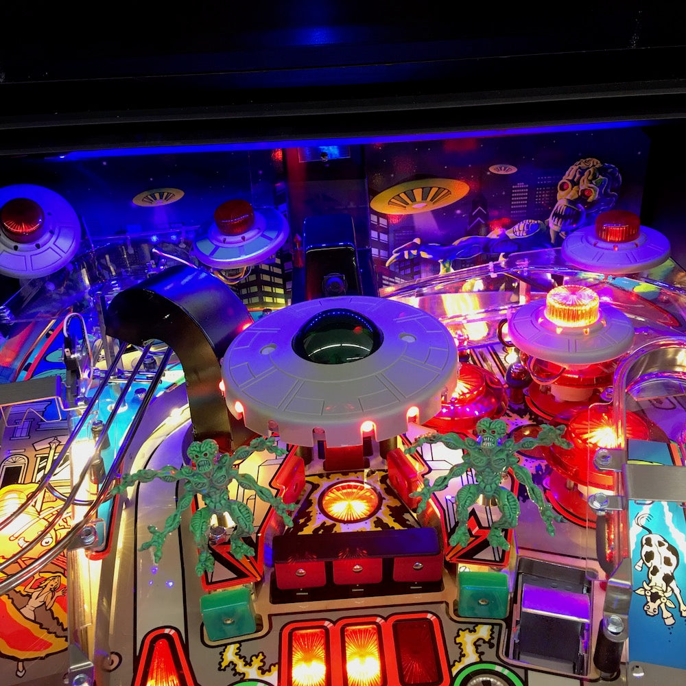 Attack from Mars Pinball Backboard Illumination