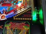 Attack from Mars Pinball Remake Shooter Lane Illumination