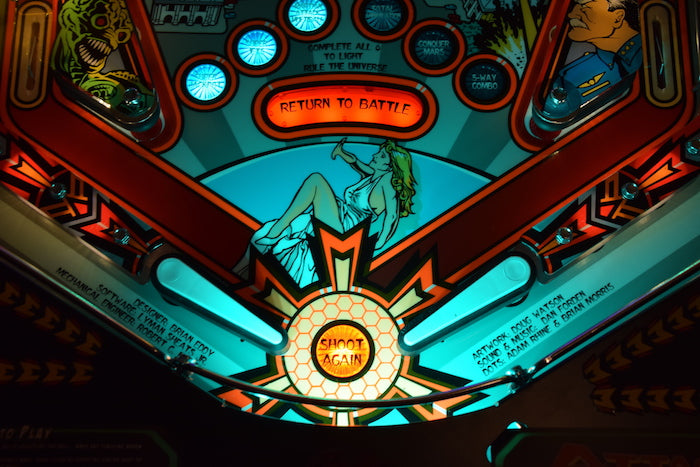 Attack from Mars Pinball Trough Lighting Kit