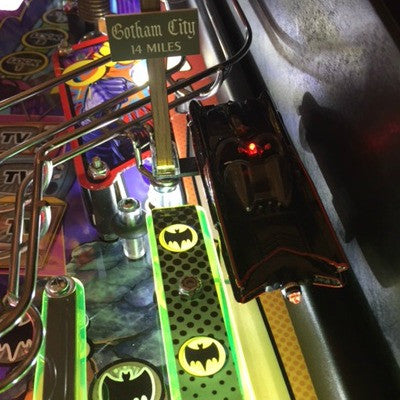 Batman 66 Pinball Gotham City Sign