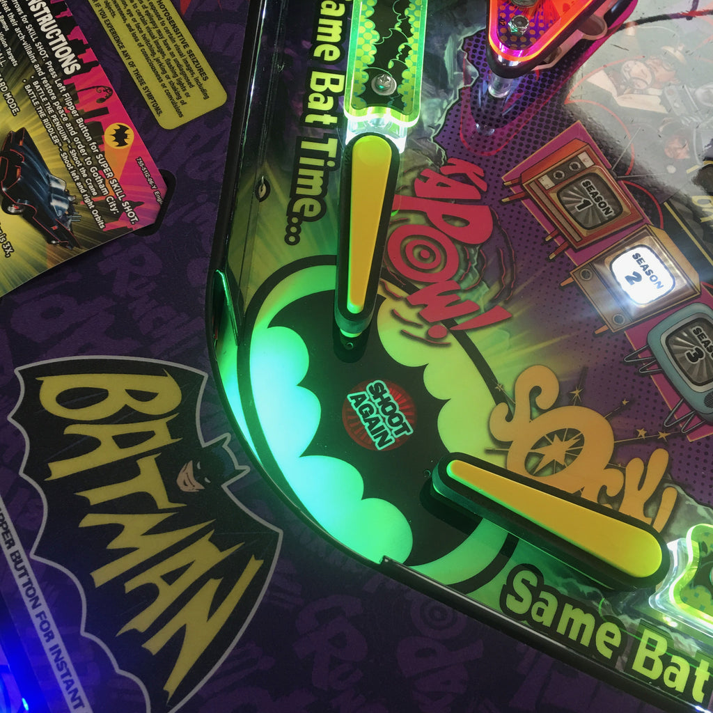 Batman 66 Pinball Trough Lighting Kit