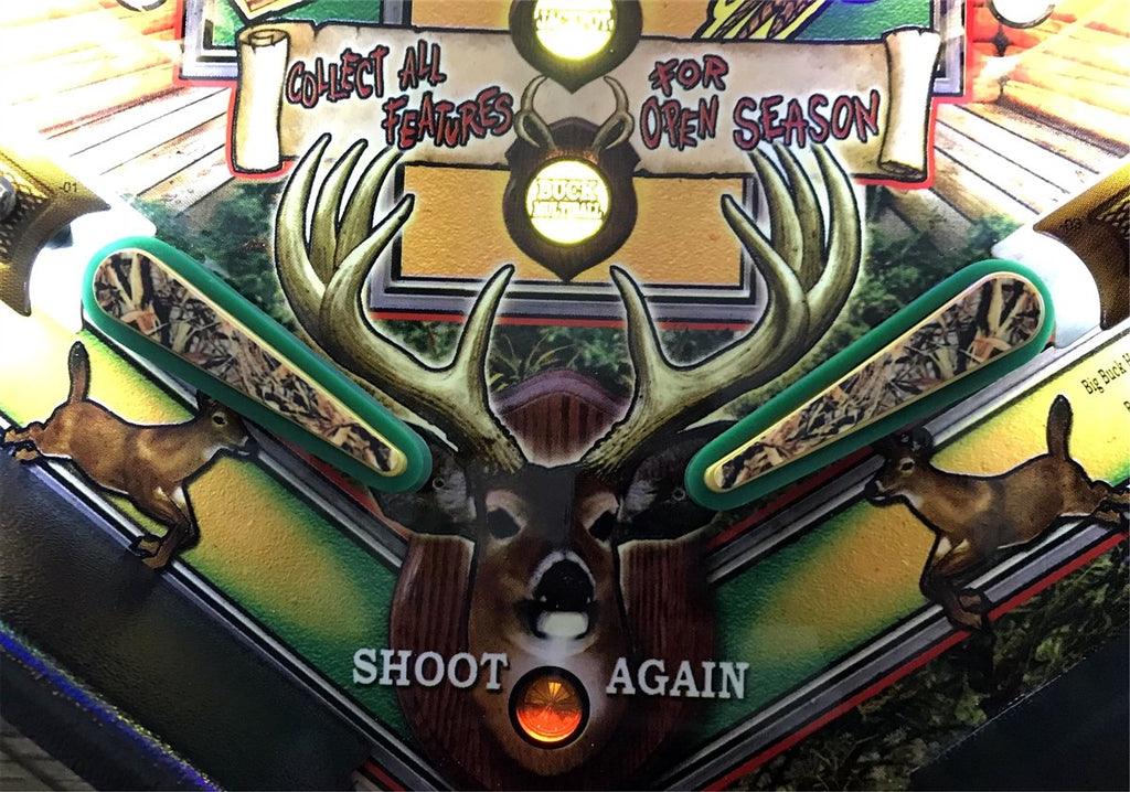 Big Buck Hunter Flipper Bat Toppers