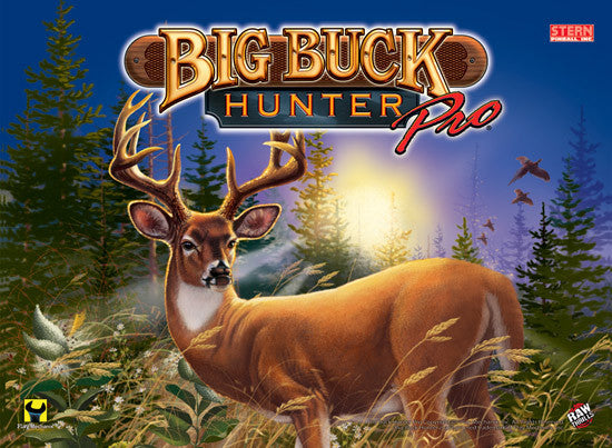 Big Buck Hunter Pinball Interactive Under-cabinet Light Kit