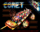 Comet Pinball Interactive Under-cabinet Light Kit