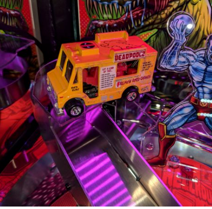Deadpool Pinball Chimichanga Truck