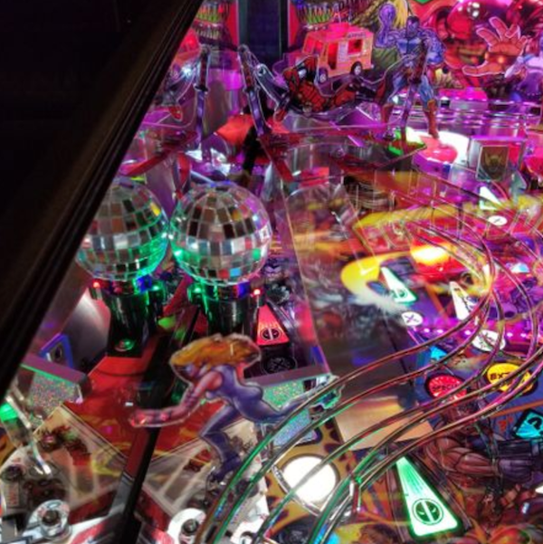 Deadpool Pinball Pro Disco Ball