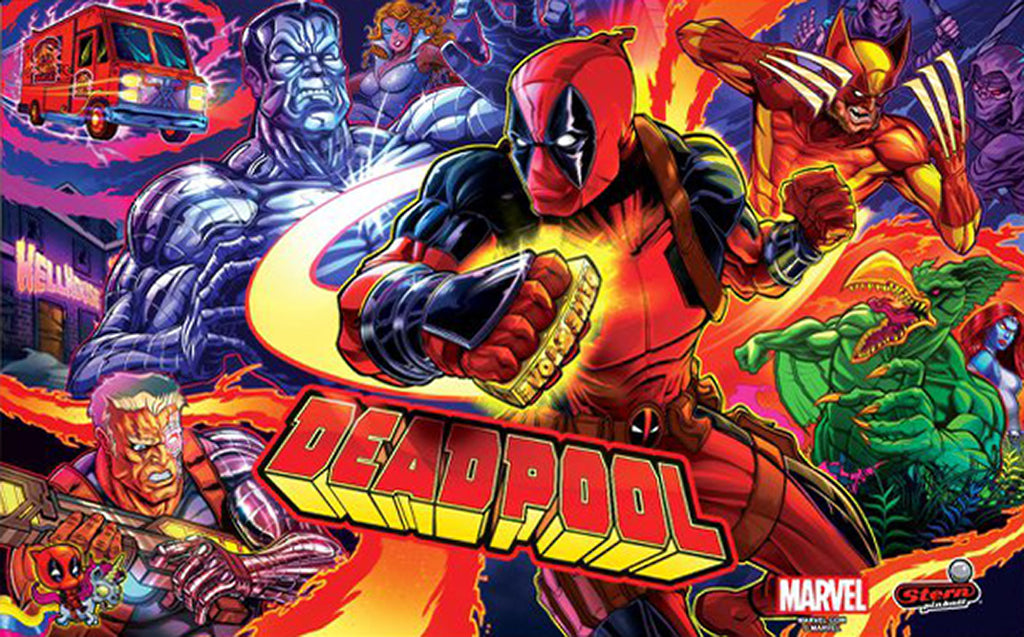 Deadpool Pinball Interactive Under-cabinet Light Kit