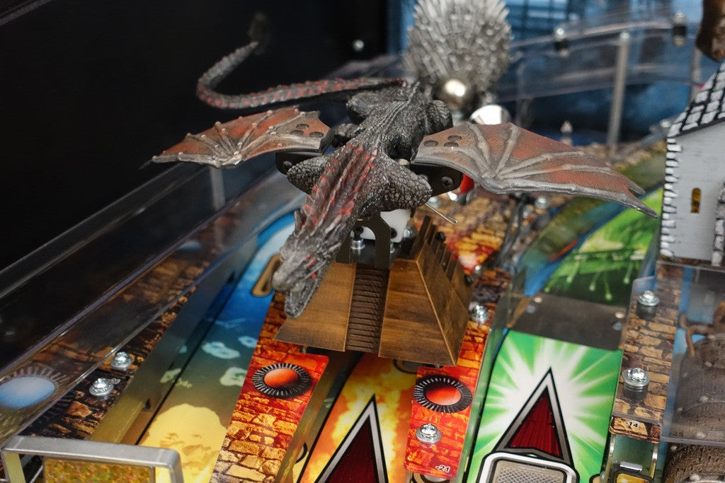 Game of Thrones Pro Pinball Dragon Pyramid - Mezel Mods  - 2