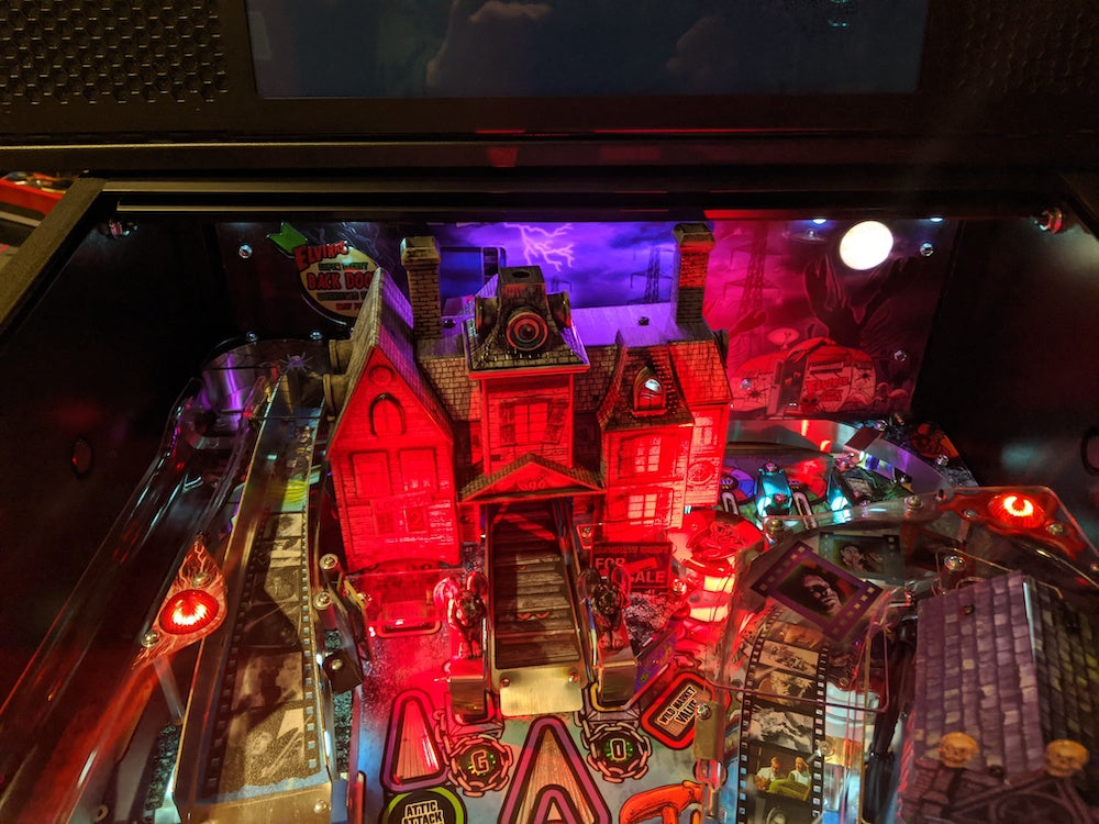 Elvira House of Horrors Pinball Backboard Lighting Kit