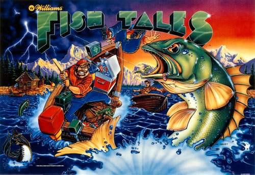 Fish Tales Pinball Interactive Under-cabinet Light Kit