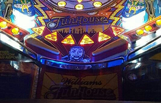 Pinball Trough Lighting Kit- Fun House