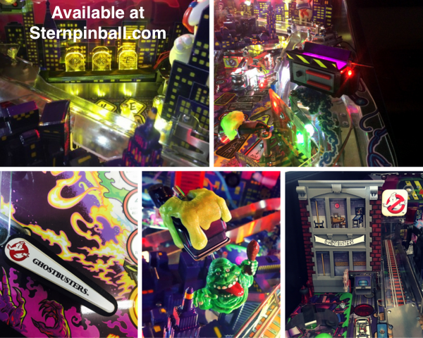 Ghostbusters Pinball Mezel Mods Kit #1