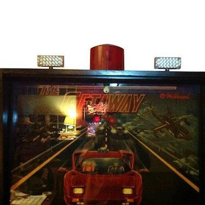 Getaway High Speed 2 Pinball Flasher Topper - Mezel Mods  - 1