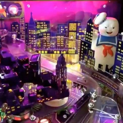 Ghostbusters Pinball Walking Stay Puft - Mezel Mods  - 2