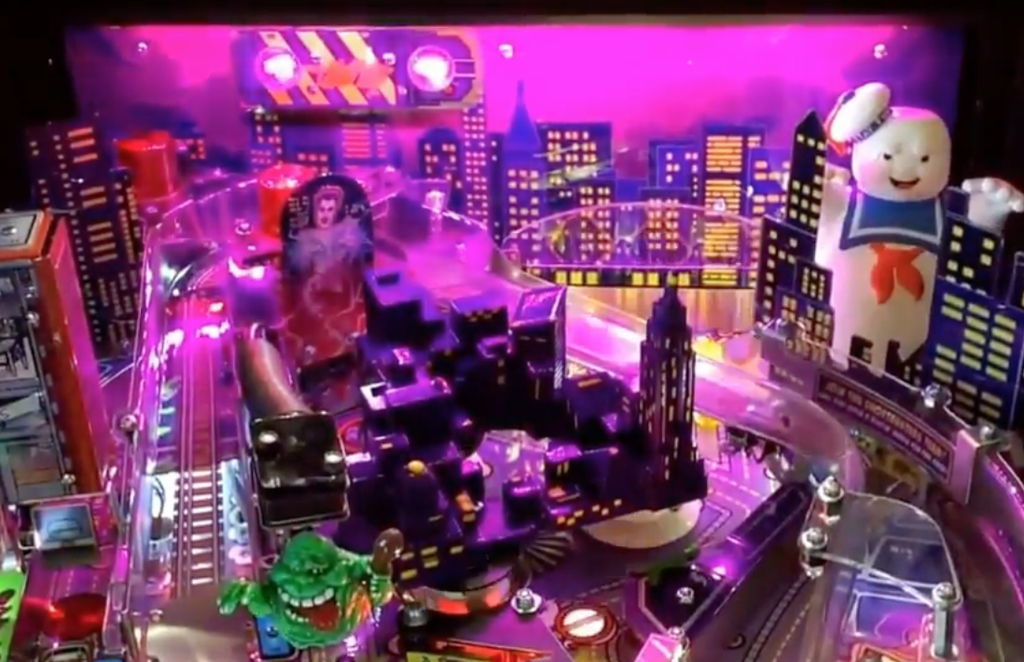 Ghostbusters Pinball Backboard Illumination - Mezel Mods  - 2