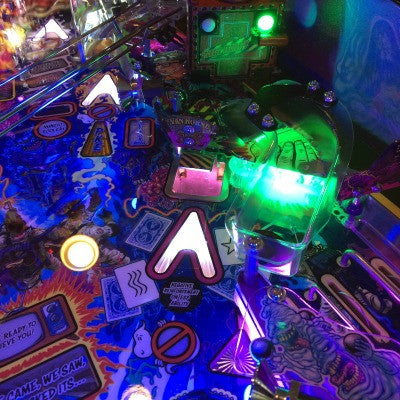 Ghostbusters Pinball Scoop LED Premium- River of Slime - Mezel Mods  - 1