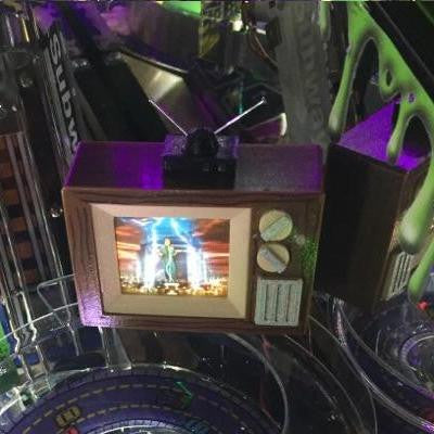 Ghostbusters Pinball TV Video Display Mod - Mezel Mods  - 1
