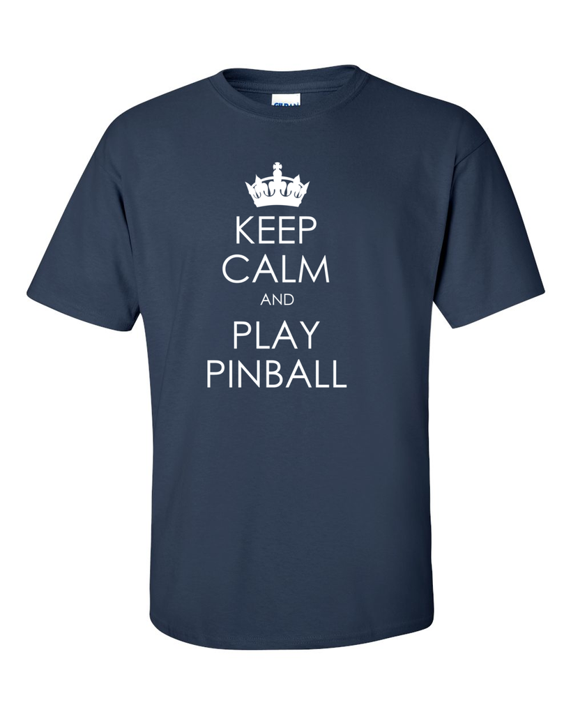 Keep Calm Pinball Tee Shirts- Men's - Mezel Mods  - 2