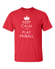 Keep Calm Pinball Tee Shirts- Men's - Mezel Mods  - 1