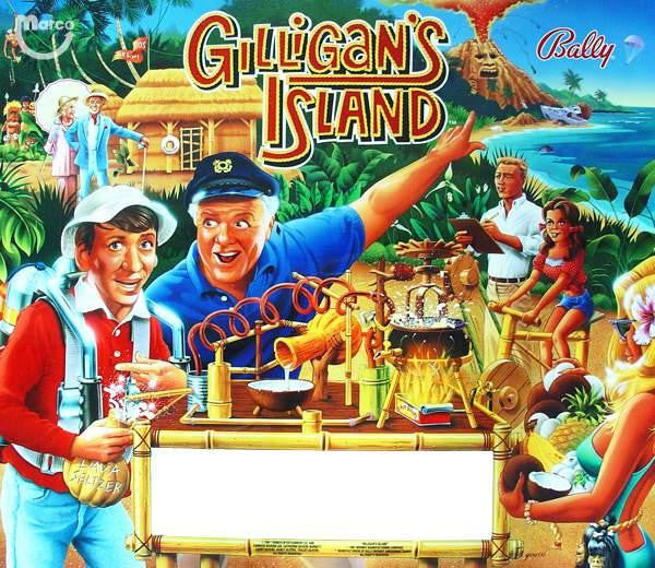 Gilliagan's Island Pinball Interactive Under-cabinet Light Kit