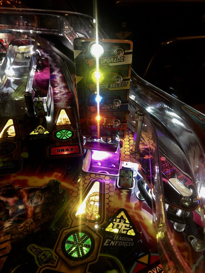 Guardians of the Galaxy Pinball Scoop Illumination