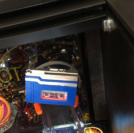 Guardians of the Galaxy Pinball Awesome Tape Player