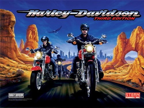 Harley Davidson Pinball Interactive Under-cabinet Light Kit